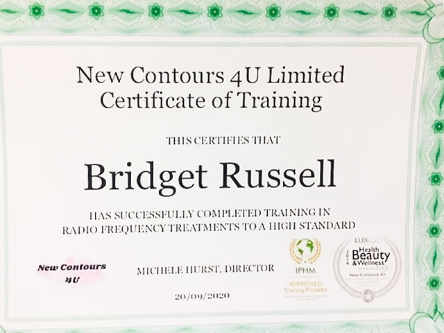 Radio Frequency Qualification - Certificate of Completion